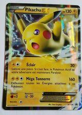 Carte Pokemon PIKACHU EX XY174 Holo EX Promo Pokebox Française NEUF