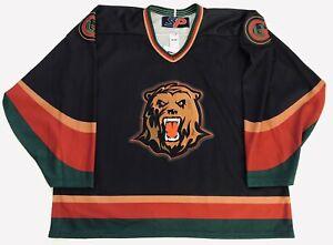 2001-01 SP Utah Grizzlies Alternate Replica Hockey Jersey Size XXL New With Tags