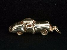 14k Yellow Gold Car Charm with Movable Doors and Wheels