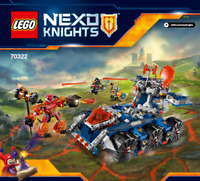 ~~LEGO NEXO KNIGHTS 70322 AXL'S TOWER CARRIER - INSTRUCTION MANUAL ONLY