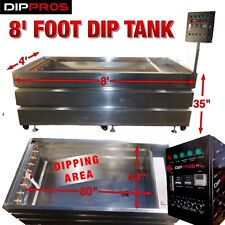 "8"" FOOT STAINLESS HYDROGRAPHIC WATER TRANSFER DIP TANK HYDRO DIPPING U.S. SELLER"