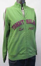 Tommy Hilfiger,Neuwertig,Damen,Pullover,Zipper,Grün,Aufschrift,L(USA),Gr.42