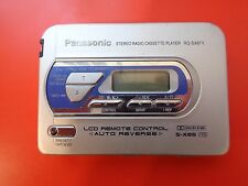 Panasonic RQ-SX87V Cassette Player, Blue! From personal collection