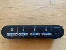 Bafo DVI Single Link 1 to 3 Splitter with Audio