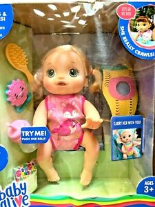 Baby Alive Baby Go Bye Bye Blonde Hair Doll 30+ Phrases And Sounds Ages 3+ NEW