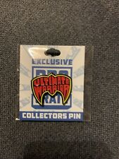 Ultimate Warrior WWF WCW HOF WWE Pin Pro Wrestling Crate Exclusive