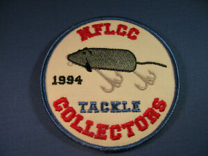 NFLCC - NATIONAL FISHING LURE COLLECTORS  PATCH  1994   #2