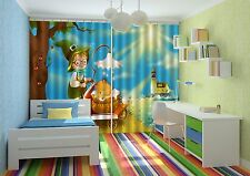 3D Lovely Kid 1 Blockout Photo Curtain Printing Curtains Drapes Fabric Window AU