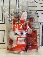 NIP McDonalds The Secret Life Of Pets Snowball Bunny Rabbit Happy Meal Plush Toy