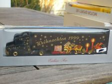"""Herpa 188791 Exclusive Series Scania 144 L """" Christmas 1999 """" # Boxed"""