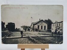 (PC) Illinois Central RY. Station, Peotone, Ill *Combined Shipping Available*