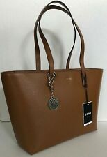 New DKNY Donna Karan Leather Tote Camel with Dust bag