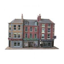 Low relief pub & shops - OO/HO Card kit – Metcalfe PO205 - Free Post