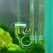 1pcs CO2 Carbon dioxide Nano Glass Diffuser for Plant Aquarium Tank with Sucker