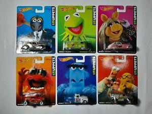Hot Wheels Muppets Full Set pop culture Kermit T1 Volkswagen Panel RARE SET