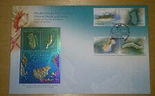 Royal Selangor Niobium Pewter Stamp FDC - 2003 Islands Beaches Pulau Malaysia