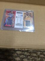 DONOVAN MITCHELL FULTZ DUAL ROOKIE TICKET JERSEY PATCH RC 2017-18 CONTENDERS