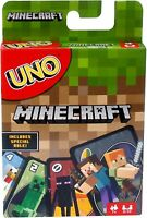 UNO Minecraft Card Game - Mattel Uno Minecraft New in the UK from Mattel