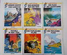 6x Harry und Platte - Band 3 - 8. 1. Auflage - Carlsen Comics, Sammlung.