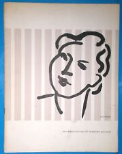 MATISSE EXHIBITION OF MASTER PRINTS 1956