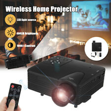 Mini LED Digital Projector Home Theater Multimedia 1080P HDMI/TV/USB/AV US