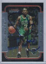 Tony Delk Boston Celtics 03-04 Bowman Chrome Authentic Autograph COA