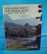MAINLINE MODELER MAGAZINE OCTOBER 1982 THE MONON BOX CAR, EMD GP-7, RDG F UNIT