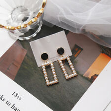 Cute Simlated Pearl Stud Earrings Women Girls Star Christmas Earing Jewelry Gift