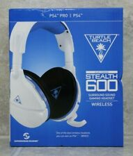 Turtle Beach Ear Force Stealth 600 Surround Sound Gaming Wireless Headset -White