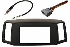 Jeep Grand Cherokee 2005-2007 Double Din Navigation Radio Bezel Dash Install ...