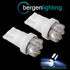 2 x W5W T10 501 Xénon Blanc 7 Dôme LED Côté Répétiteur Clignotant ampoules hid