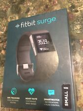 Fitbit Surge Fitness Superwatch, Black, Small Open Box Value!