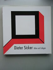 Dieter Sicker Bilder und Collagen + Lene Sicker-Hummel Skulpturen 1992