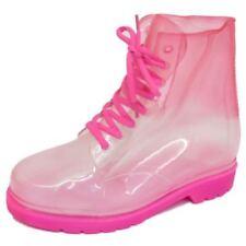 Calzado de mujer botas de agua rosas sin marca
