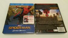 SPIDER-MAN Homecoming Blu Ray Steelbook NUOVO
