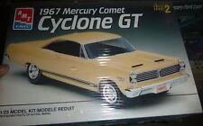AMT 6750 1967 MERCURY COMET CYCLONE GT 1/25 Model Car Mountain FS