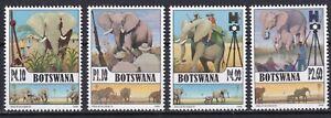 Botswana 2008 Fauna, Animals, Elephants 4 MNH stamps