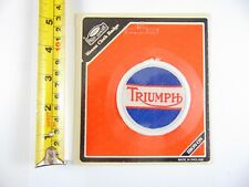 Genuine Original Triumph - Paddy Hopkirk 1960/70s Woven Cloth Patch  - Badge
