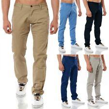 Markenlose unifarbene Herrenhosen mit regular Länge