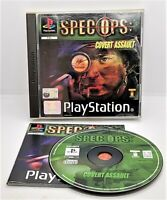 Spec Ops: Covert Assault Video Game for Sony PlayStation PS1 PAL TESTED
