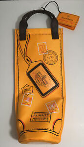 ✨ VEUVE CLICQUOT Champagne Bottle Holder Tote Shopping Bag Carrier Insulated ✨