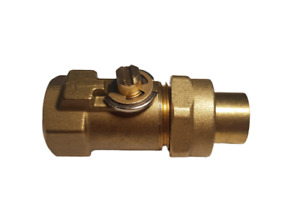 """Gas Cock for AGA Cookers A1219 1/4"""" BSP Gas Tap - AGA Spare Parts"""