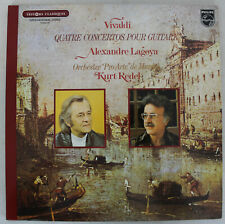 Disque Vinyle - Vivaldi - 4 Concertos pour Guitare - A. Lagoya - K. Redel - INT