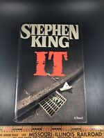 IT by Stephen King 1986 1st Edition Viking Hardcover