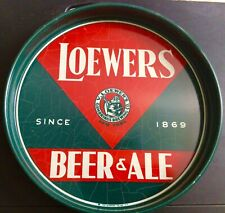 New listing Loewers Beer Tray (Ny) Exc Full Size Art Deco, (Not The Tip Tray) Last Call!