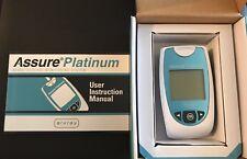 New in Box ARKRAY Assure Platinum Blood Glucose Meter & Manual #500001 LOT OF 8