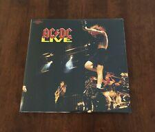AC/DC LIVE VINYL LP BRAND NEW