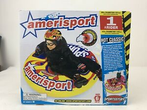 "Amerisport Snow Tube 48"" Sledding Fits One Rider Adult+Kids Durable New"