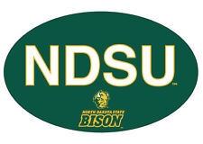 NORTH DAKOTA STATE BISON BLOCK LETTER DECAL-NDSU STICKER-NEW FOR 2016!