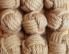 Monkey Fist Knot 12 pcs , Wedding decor, Home decor, Hemp rope